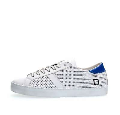 new arrival 1fc76 7426b DATE SNEAKERS UOMO HILL LOW NAPPA BLUE - EUR 77,50 | PicClick IT