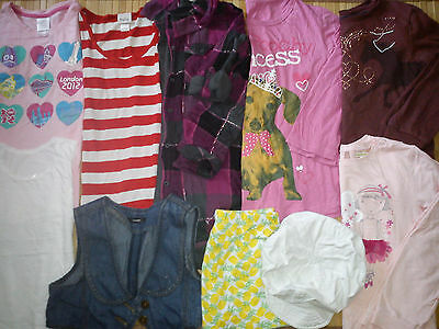 28x GIRL BUNDLE CLOTHES 9/10 YRS DRESSES TOPS  trousers (5.2)