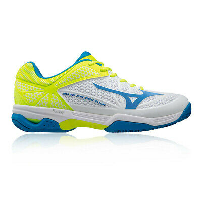 size 40 1301a 3727c Mizuno Mens Wave Exceed Tour 2 Clay Court Tennis Shoes White Yellow Sports