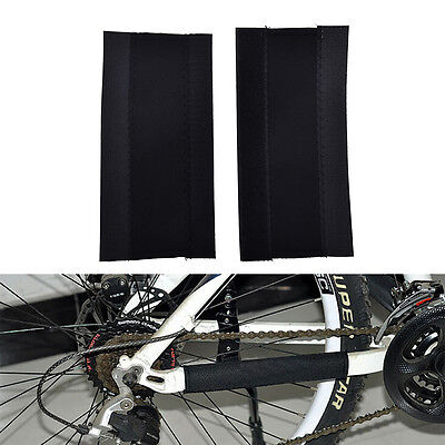 Bike Chain Stay /& Frame Scratch Protector Bicycle Protec Paster Sticker New E2L9