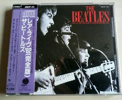 "Beatles ""live At The Star-Club In Hamburg"" Cd, Unofficial Release. 1985. Japan."