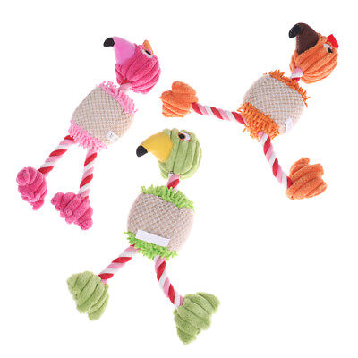 28*6cm Pet Products Bird Shape Plush Dog Toy for Small Dogs   Lc