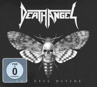 Death Angel - The Evil Divide  - Cd + Dvd Digipak  Sigillato (Sealed)