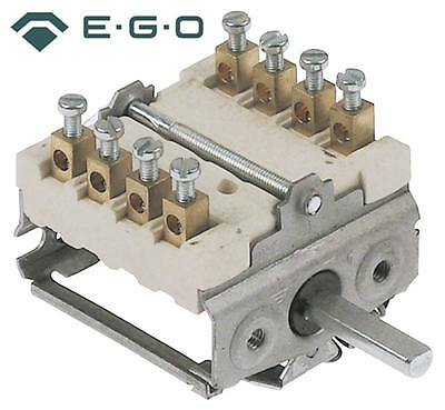 Ego 49.44215.700 Cam Switches Axle Ø 6x4, 6x23mm 4 Positions 16a
