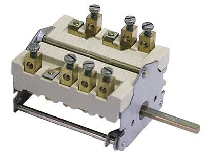Ego Cam Switches 3-pin Axle Ø 6x4, 6x23mm Connection Screw Terminal 5no 16a