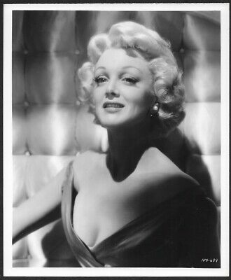 Icy Blonde Jan Sterling Femme Fatale 1954 Glamour Photograph The High and Mighty