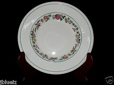 WEDGWOOD ETRURIA ENGLAND rimmed 8 coupe soup bowl 1920 Boston pattern