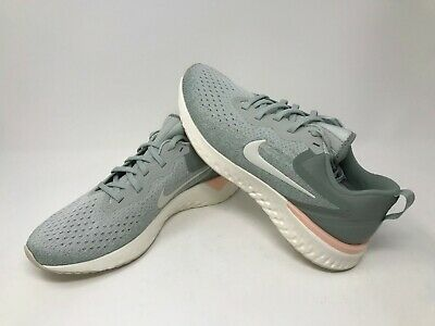 f583a727e4bdd WOMENS NIKE ODYSSEY React Running Shoes Size 6.5 Silver Mica Green ...