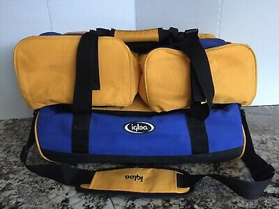 Igloo Food Shuttle Insulated Casserole Carrier Handle & Sections Picnic, Potluck