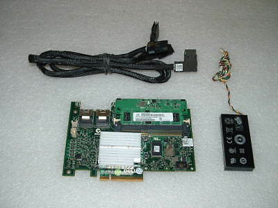 Dell Poweredge R610/R710 3.5 PERC H700 Raid Card with 512mb/Battery/Cables M246M
