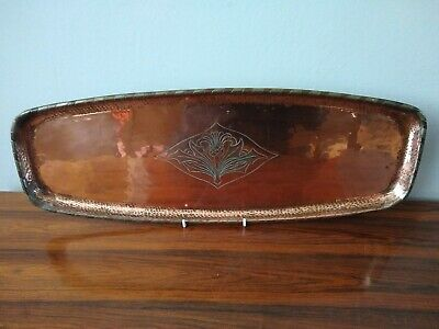 Hugh Wallis Large Copper Tray Arts & Crafts
