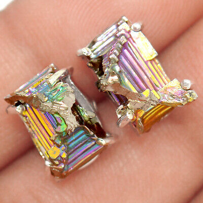 Bismuth Crystal 925 Sterling Silver Earrings Jewelry Ae37015 93j Gemstone Triangle Fine Earrings