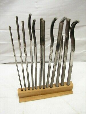 Early Surgical Set Medical Bone Surgeon's Chisel Orthopedic Tool Gouge Doctor