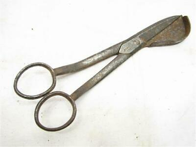 Tidmarsm Early Candlestick Tape Candler Wick Trimmer Scissors Hand Forged Signed