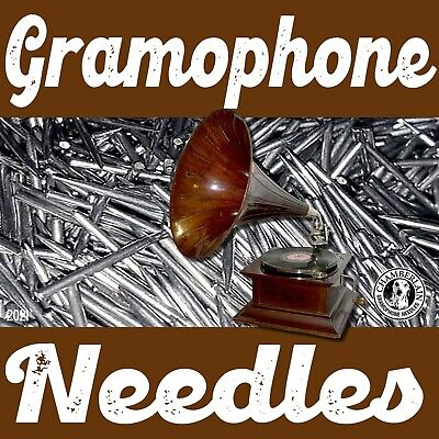 VICTROLA NEEDLES for gramophone phonograph victrola 78rpm records 100/pack