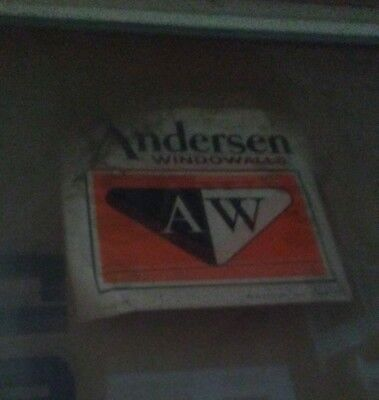 Vintage Andersen Beauty Line WINDOW  4163 Upper sash 44-3/16 x 46-1/4 WELDED