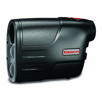 Tasco LRF 600 Yard 4x Golf Laser Rangefinder with Carry Case, Black - 801750