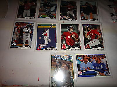 2012-2014-201516 Topps Baseball Variation/Parallel Cards==All In Near Mint Condi