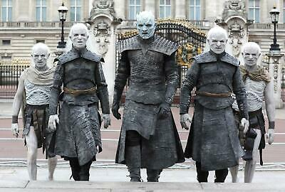 Game Of Thrones The Night King And His Alies Walk Out With Anger Publicity Photo