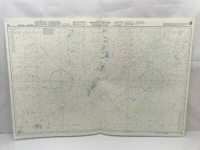 Admiralty Chart Nautical Map Pacific Ocean Mariana Islands Southern Part 764