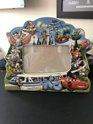 Disney Parks Mickey & Friends Walt Disney World Storybook Ceramic Photo Frame