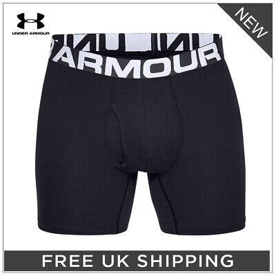 ***Under Armour '2019' Charged Cotton 15Cm Boxerjock - 3-Pack - 15% Off Rrp!!***