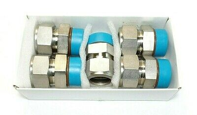 Swagelok SST Tube Fitting, Male Connector, 1 in.Tube x 1 5/16-12. Box of 5. New.
