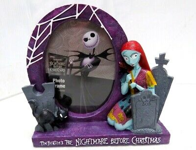 The Nightmare Before Christmas Photo Picture Frame~Choice Jack/Sally~NEW~Disney