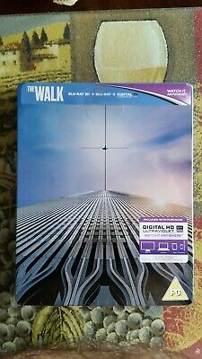 The Walk 3D And 2D Blu Ray Zavvi Steelbook Region Free! Brand New