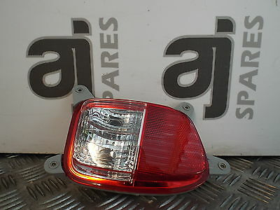 Kia Picanto 1 2012 1.0 Petrol Passenger Side Rear Reverse Light