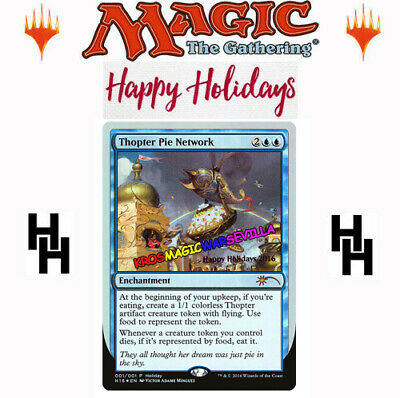 MTG Thopter Pie Network Promo FOIL - Happy Holiday 2016 ENGLISH - Never Played