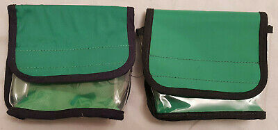 AMBULANCE BACKPACK POUCHES x 2 - PARAMEDIC, NURSE, FIRST AID, FIRE RESCUE