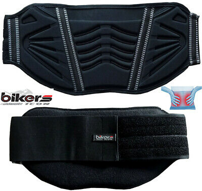 Embossed Expandable Stretch Lower Back Kidney Belt Motorbike Motorcycle Support