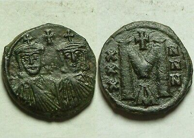 Rare ORIGINAL ancient BYZANTINE coin Reduced follis CONSTANTINE V 751AD Leo III