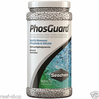 Seachem Phos Guard 250ml Removes Phosphate & Silicate Fast Free USA Shipping