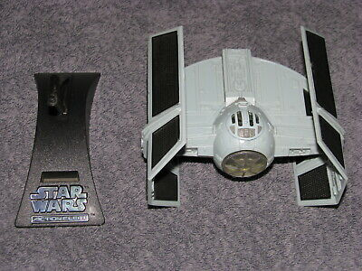 Vintage Star Wars Micro Machines Action Fleet TIE Advanced with Stand Galoob