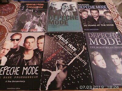 6 pcs Collection of Depeche Mode DVDs Region Free