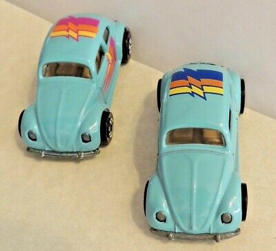 """1989-90 Hot Wheels VW BUGs """"rare variations""""~turquoise1966 Volkswagens***MINT***"""