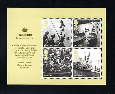 GB 2010 Britain Alone Dunkirk. MNH.One postage for multi  buys