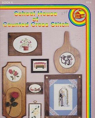 School House of Counted Cross Stitch BRIDE & GROOM CABLECAR MORE...