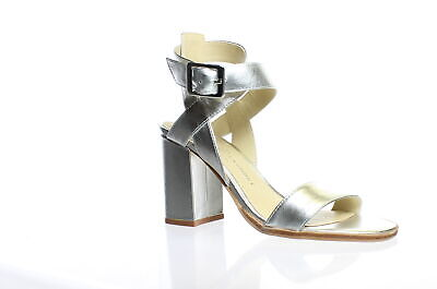 3cfca0dea46 Chinese Laundry Womens Sitara Silver Ankle Strap Heels Size 6 (244355)