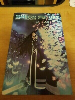 Steve Aoki Presents Neon Future 1 Cover A 1st Print Impact Theory Comic 2019