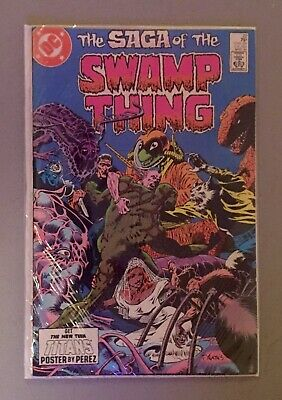 The Saga Of The Swamp Thing #22 1984  Alan Moore Story!