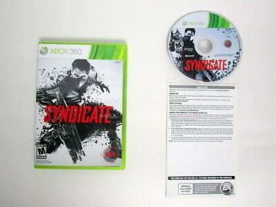 Syndicate game for Microsoft Xbox 360 -Complete