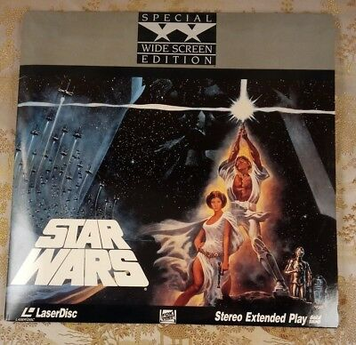 Star Wars 1977 Laser Disc Movie Special Widescreen Edition 1989