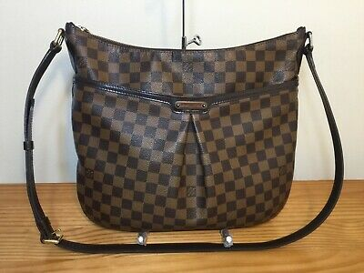 0408cb0e21fb Authentic Louis Vuitton Damier Ebene Bloomsbury GM Cross Body Bag