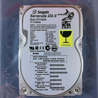 SEAGATE HDD | Barracuda ATA IV | 40GB | 2MB | 7200RPM