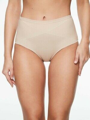 Chantelle C Smooth High Waist Nude Brief Panties   New
