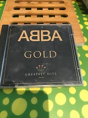 Abba Gold Greatest Hits Cd Disc Vgc 1
