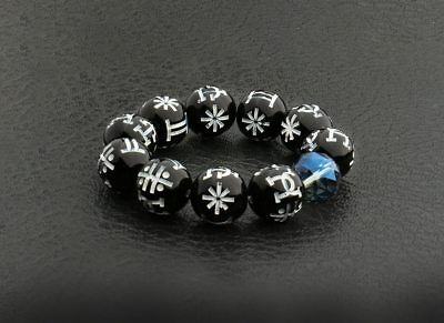 ba5f797944d948 MARVEL BLACK PANTHER Kimoyo Bead Bracelet, Blue | Collectible Movie ...